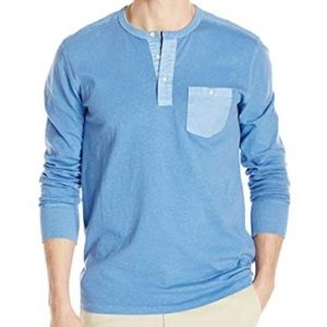 Lucky Brand Surfside Henley Federal Blue
